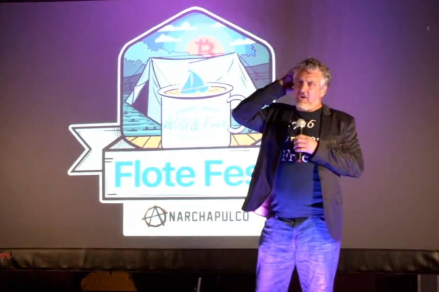 Del Bigtree at Flote Fest 2021